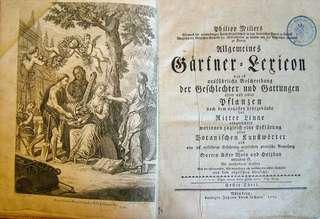 Allgemeines Gärtner=Lexicon