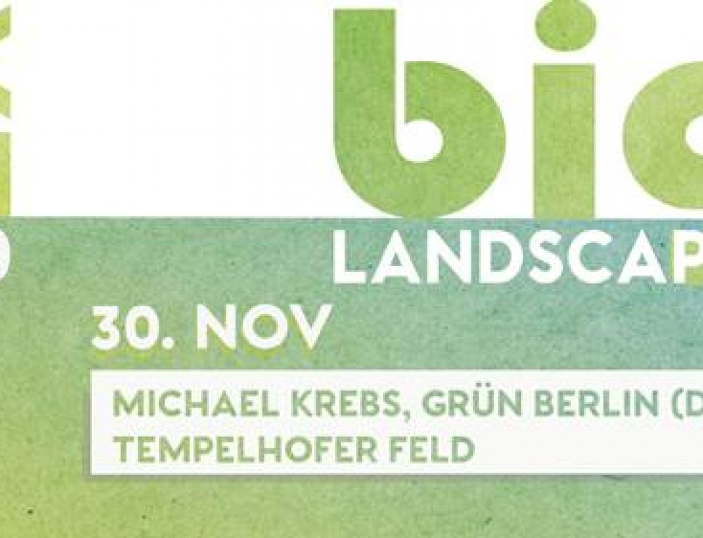 LX10 BIG LANDSCAPES Vortragsreihe Landschaftsarchitektur 2017