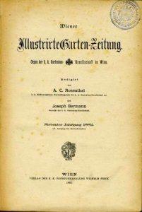 Wiener Illustrirte Garten-Zeitung, 1882