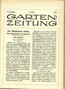 Garten-Zeitung, 1919