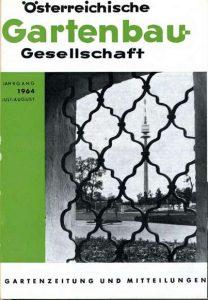 Gartenzeitung und Mitteilungen der ÖGG, 1964