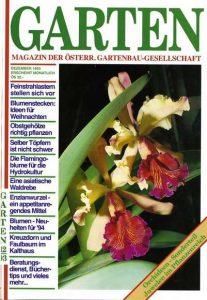 GARTEN – Magazin der ÖGG, 1993